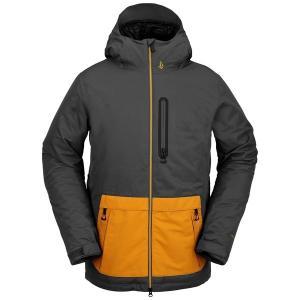 ボルコム メンズ ジャケット&ブルゾン アウター Volcom Deadly Stones Insulated Jacket Dark Grey|astyshop