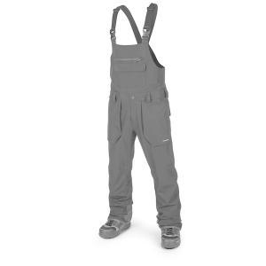 ボルコム メンズ カジュアルパンツ ボトムス Volcom Roan Bib Overalls Black|astyshop