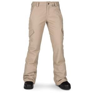 ボルコム レディース カジュアルパンツ ボトムス Volcom Bridger Insulated Pants - Women's Sand Brown|astyshop