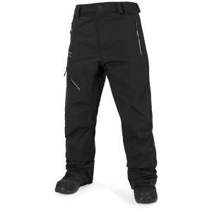 ボルコム メンズ カジュアルパンツ ボトムス Volcom L GORE-TEX Pants Black|astyshop