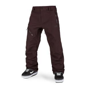 ボルコム メンズ カジュアルパンツ ボトムス Volcom L GORE-TEX Pants Black Red|astyshop