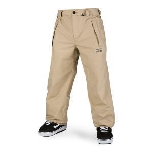 ボルコム メンズ カジュアルパンツ ボトムス Volcom Longo GORE-TEX Pants Khaki|astyshop