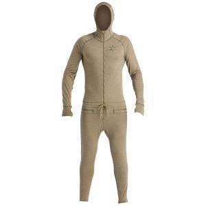 エアブラスター メンズ Tシャツ トップス Airblaster Merino Ninja Suit Olive astyshop