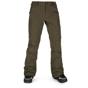 ボルコム レディース カジュアルパンツ ボトムス Volcom Knox Insulated GORE-TEX Pants - Women's Black Military|astyshop