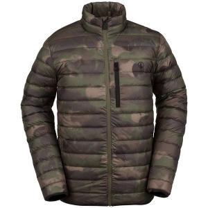 ボルコム メンズ ジャケット&ブルゾン アウター Volcom Puff Puff Give Jacket Camouflage|astyshop