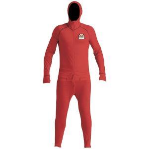 エアブラスター メンズ Tシャツ トップス Airblaster Merino Ninja Suit Austen Sweetin Red astyshop