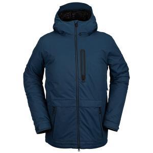 ボルコム メンズ ジャケット&ブルゾン アウター Volcom Deadly Stones Insulated Jacket Blue|astyshop