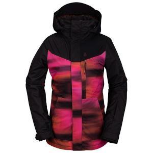 ボルコム レディース ジャケット&ブルゾン アウター Volcom Pine 2L TDS Jacket - Women's Bright Pink|astyshop