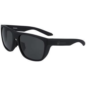 ドラゴン メンズ サングラス・アイウェア アクセサリー Dragon Aerial Sunglasses Matte Black/Grey astyshop