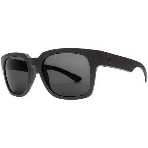 エレクトリック メンズ サングラス・アイウェア アクセサリー Electric Zombie S Sunglasses Matte Black/Ohm Grey|astyshop