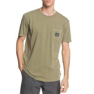 クイックシルバー メンズ Tシャツ トップス Quiksilver Sub Mission Pocket T-Shirt Kalamata astyshop
