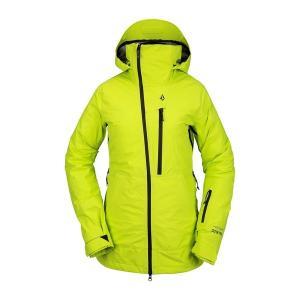 ボルコム レディース ジャケット&ブルゾン アウター Volcom NYA TDS INF GORE-TEX Jacket - Women's Lime|astyshop