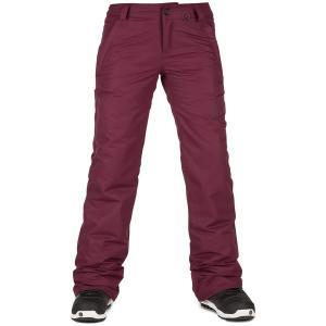 ボルコム レディース カジュアルパンツ ボトムス Volcom Frochickie Insulated Pants - Women's Merlot|astyshop