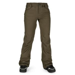 ボルコム レディース カジュアルパンツ ボトムス Volcom Species Stretch Pants - Women's Black Military|astyshop
