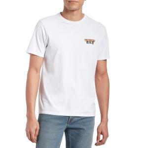 ボルコム メンズ Tシャツ トップス Volcom Day Waves T-Shirt White|astyshop