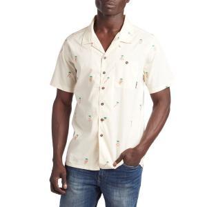 ビラボン メンズ シャツ トップス Billabong Busy Palm Short-Sleeve Shirt Chino|astyshop