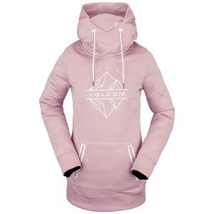 ボルコム レディース パーカー・スウェットシャツ アウター Volcom Spring Shred Hoodie - Women's Hazey Pink|astyshop