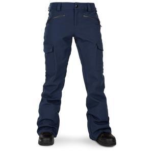 ボルコム レディース カジュアルパンツ ボトムス Volcom Grace Stretch Pants - Women's Navy|astyshop