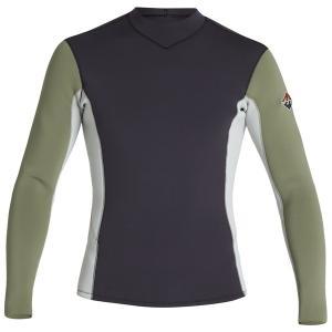 ビラボン メンズ ジャケット&ブルゾン アウター Billabong 2/2 Revolution Interchange Two-Tone Wetsuit Jacket Military|astyshop