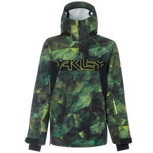 オークリー メンズ ジャケット&ブルゾン アウター Oakley Black Forest 2.0 Shell 3L Jacket Geo Camo astyshop