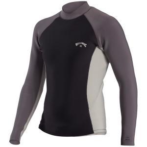 ビラボン メンズ ジャケット&ブルゾン アウター Billabong 2/2 Revo Interchange Wetsuit Jacket Grey|astyshop
