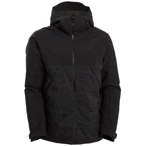 ビラボン メンズ ジャケット&ブルゾン アウター Billabong Expedition Jacket Black Reflective Camo|astyshop