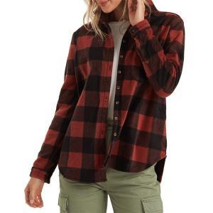 ビラボン レディース ジャケット&ブルゾン アウター Billabong Forge Flannel Jacket - Women's Chestnut|astyshop