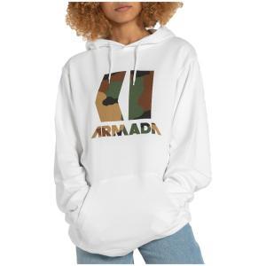 アルマダ メンズ パーカー・スウェットシャツ アウター Armada Icon Hoodie White astyshop