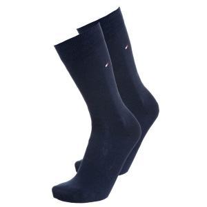 トミー ヒルフィガー 靴下 メンズ アンダーウェア CLASSIC 2 PACK - Socks - dark navy|astyshop