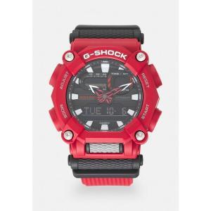 ジーショック 腕時計 メンズ アクセサリー NEW GA HEAVY DUTY STREET - Chronograph watch - red|astyshop
