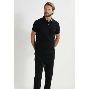 トミー ヒルフィガー ポロシャツ メンズ トップス PERFORMANCE REGULAR FIT - Polo shirt - black|astyshop