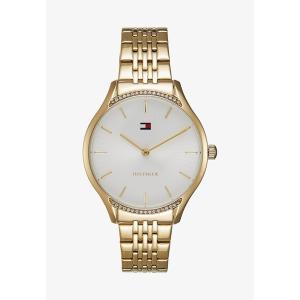 トミー ヒルフィガー 腕時計 レディース アクセサリー GRAY - Watch - gold-coloured|astyshop
