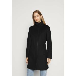 フューゴ コート レディース アウター MALURA - Classic coat - black astyshop