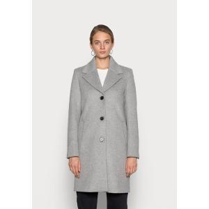 セレクテッドフェム コート レディース アウター SLFNEW SASJA  COAT - Classic coat - light grey melange astyshop