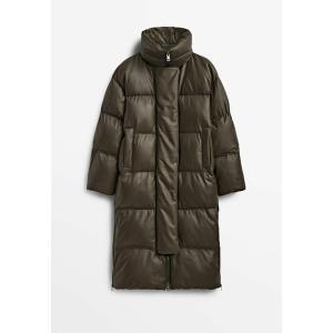 マッシモ ドゥッティ コート レディース アウター Winter coat - khaki astyshop