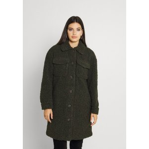 ヴェロモーダ コート レディース アウター VMKYLIEFILUCCA LONG JAKCET - Winter coat - peat astyshop