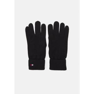 トミー ヒルフィガー 手袋 レディース アクセサリー ESSENTIAL GLOVES - Gloves - black|astyshop