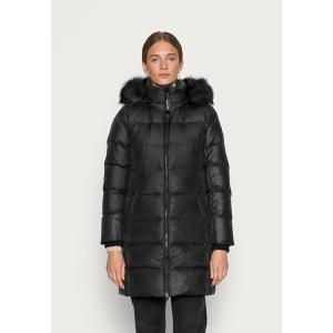 カルバンクライン コート レディース アウター ESSENTIAL REAL COAT - Down coat - black astyshop