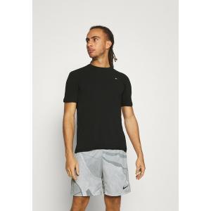 トミー ヒルフィガー Tシャツ メンズ トップス BLOCKED TEE - Print T-shirt - black|astyshop