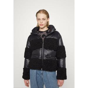 ダナ キャラン ニューヨーク コート レディース アウター PUFFER JACKET - Winter jacket - black astyshop