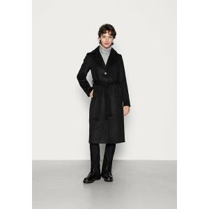 ピーシーズ コート レディース アウター PCSISUN JACKET - Classic coat - black astyshop