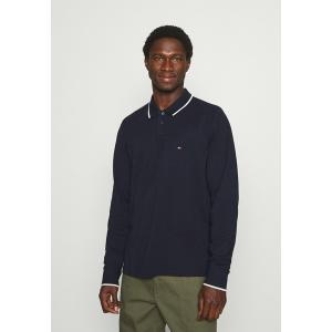 トミー ヒルフィガー カットソー メンズ トップス BASIC TIPPED REGULAR - Polo shirt - desert sky|astyshop