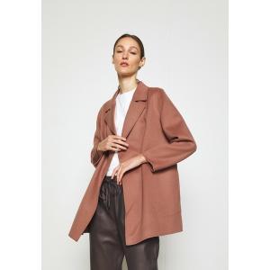 セオリー コート レディース アウター CLAIRENE LUXE - Classic coat - dark rose astyshop