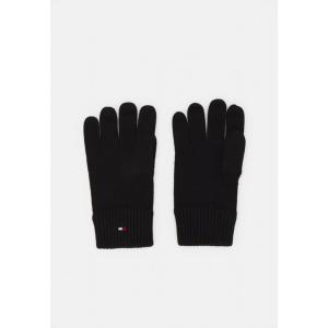 トミー ヒルフィガー 手袋 メンズ アクセサリー GLOVES - Gloves - black|astyshop