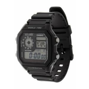 カシオ 腕時計 メンズ アクセサリー AE-1200WH-1AVEF - Digital watch - black|astyshop