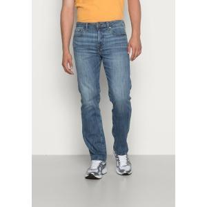 アメリカンイーグル デニムパンツ メンズ ボトムス RELAXED STRAIGHT - Straight leg jeans - medium tinted indigo|astyshop