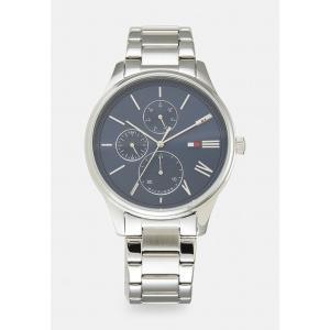 トミー ヒルフィガー 腕時計 メンズ アクセサリー DAMON - Chronograph watch - silver-coloured/blue|astyshop