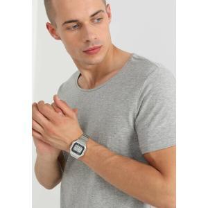 カシオ 腕時計 メンズ アクセサリー Digital watch - silver-coloured/black|astyshop