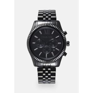 マイケルコース 腕時計 メンズ アクセサリー Chronograph watch - black|astyshop