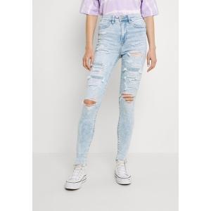 アメリカンイーグル カジュアルパンツ レディース ボトムス HIGHEST RISE JEGGING - Jeans Skinny Fit - light acid wash|astyshop